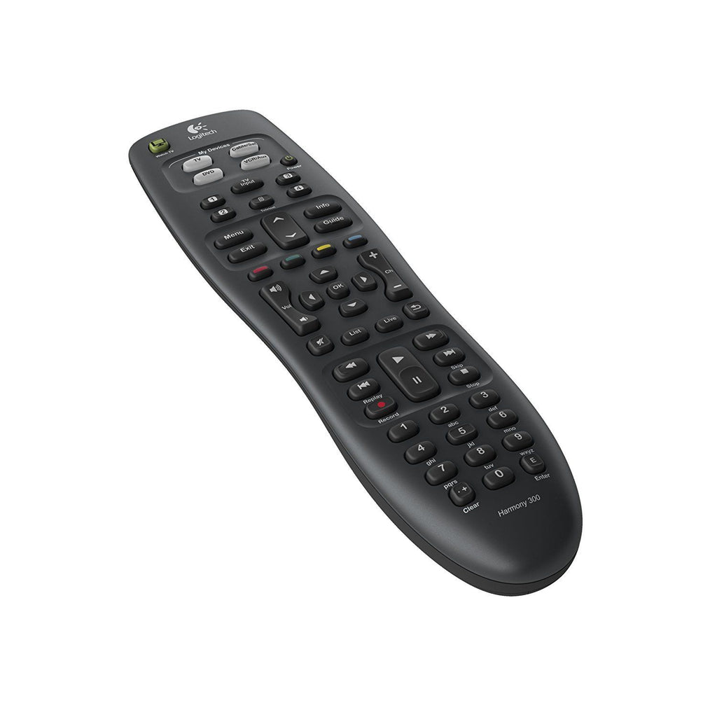 Logitech Harmony 300 Universal Advanced Remote Control 5000+ brands