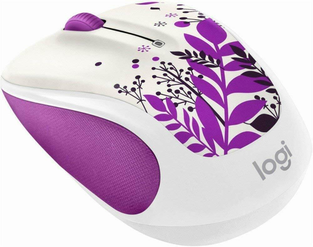 Logitech Wireless Mouse M325C mini Mice Purple Peace