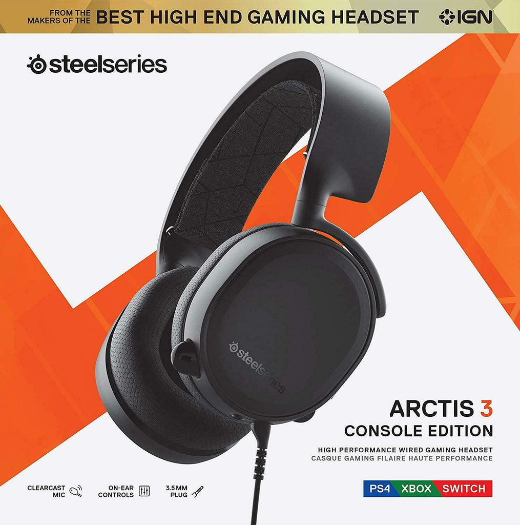 SteelSeries Arctis 3 Console Console Gaming Headset 2019 Xbox Android iOS