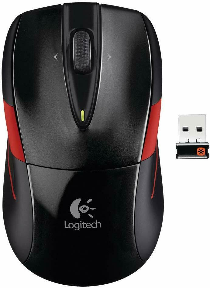 Logitech Wireless Mouse M525 Black / RED