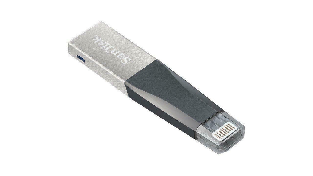 SanDisk USB 3.0 iXpand Mini Flash Drive Stick For iPhone 128 GB