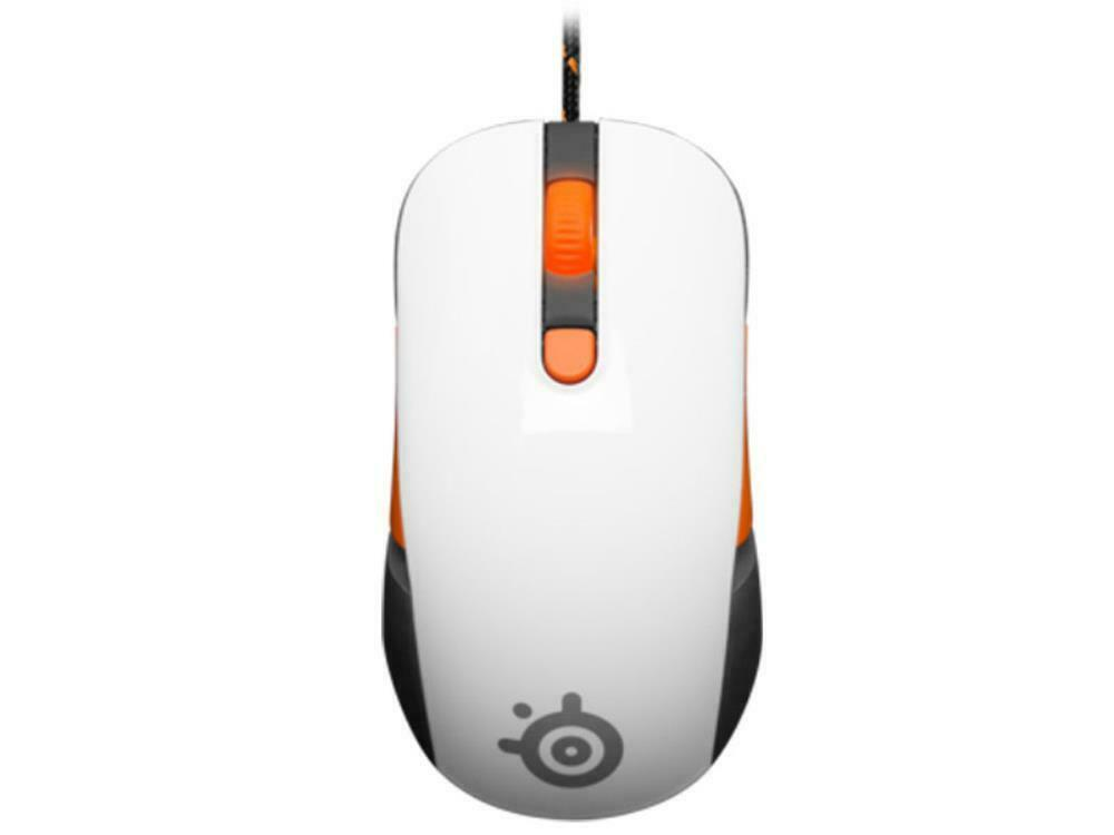SteelSeries Kana V2 Wired Ergonomic Optical Gaming Mouse Mice 5000 DPI White