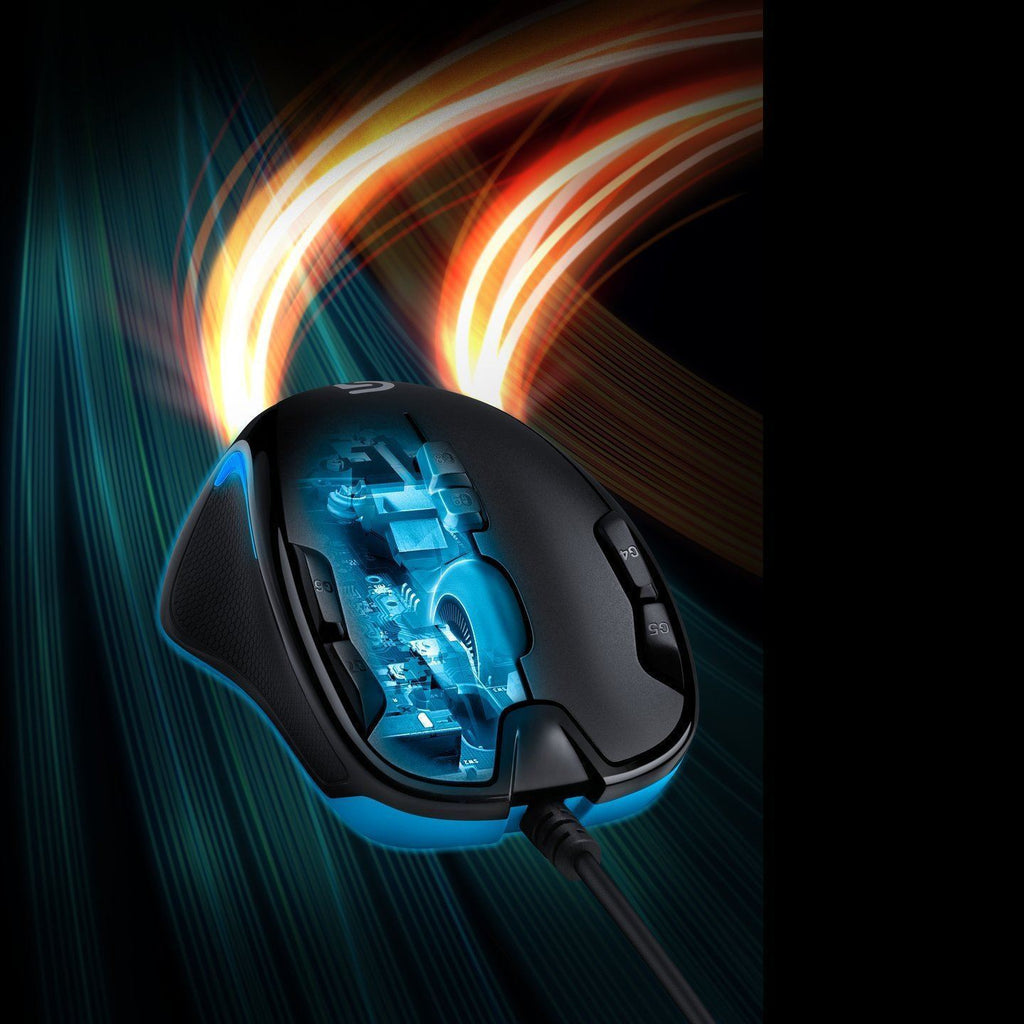 Logitech G300s Optical Gaming Mouse Black