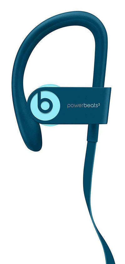 Beats by Dr. Dre Powerbeats3 Wireless Ear hook Bluetooth Headphones POP BLUE UK