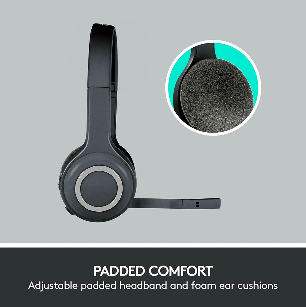 Logitech H600 Wireless Headset for PC and Mac