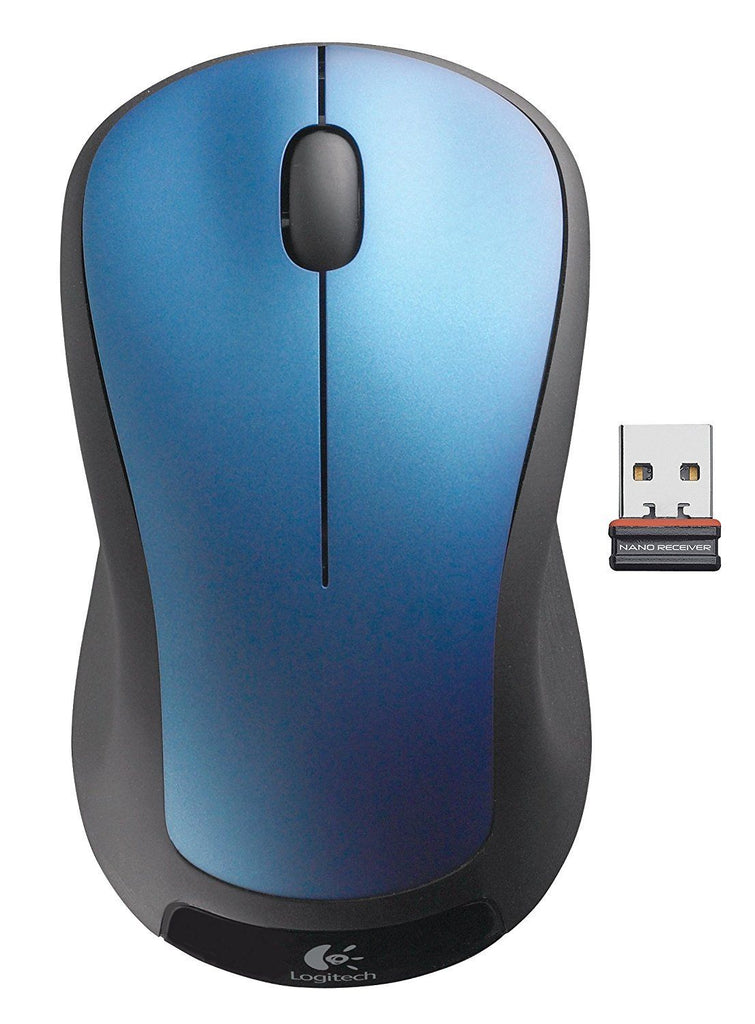 Logitech M310  Wireless Optical Mice - with USB nano receiver Blue