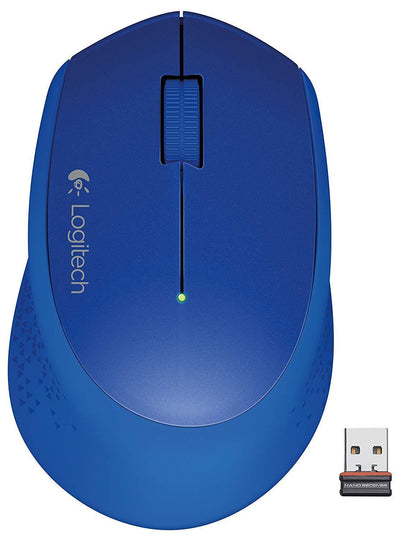Logitech M320  Mice with nano receiver BLUE