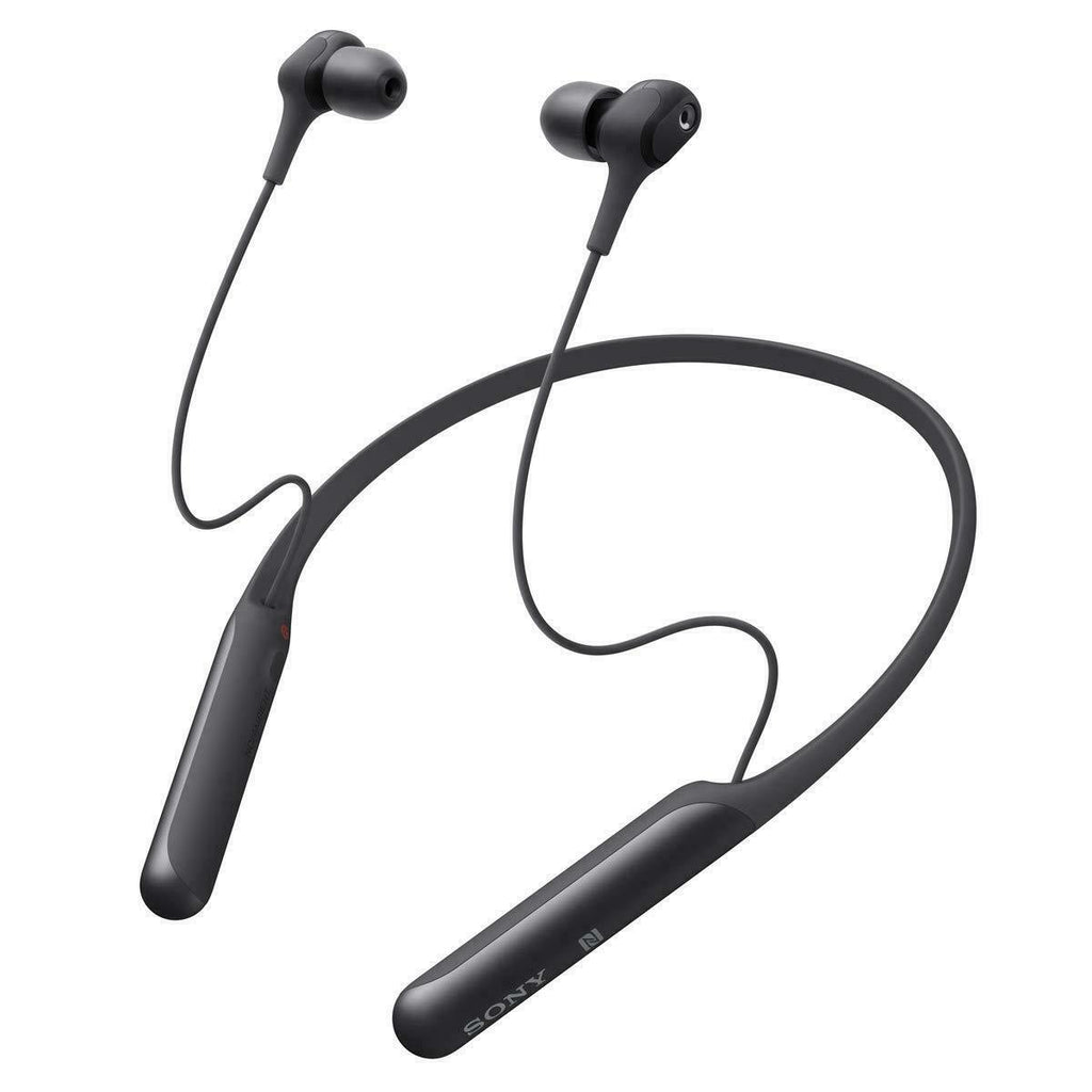 Sony WI-C600N Wireless Bluetooth Noise Cancelling In-Ear Headphones BLACK.