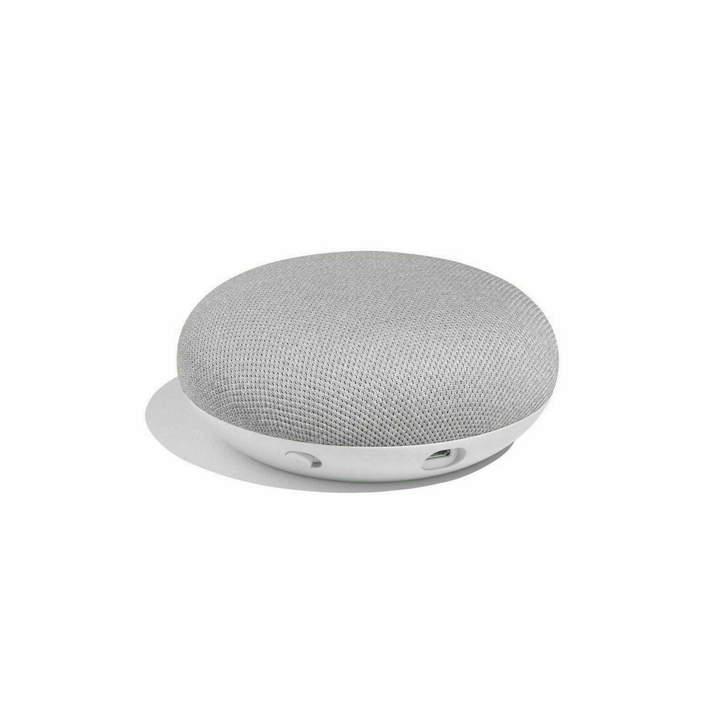 Google Home Mini Wireless Bluetooth Speaker with Google Assistant - Chalk