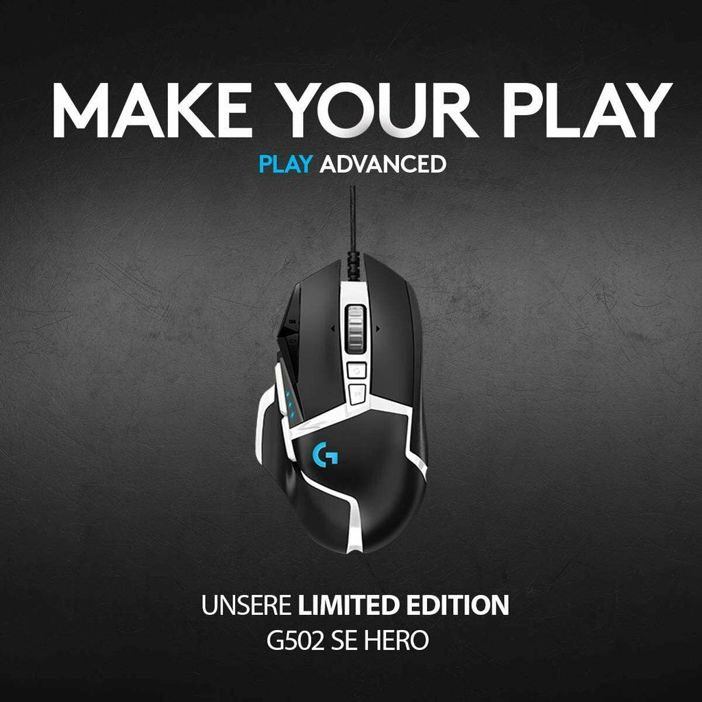 Logitech G502 HERO SPECIAL EDITION Black / White