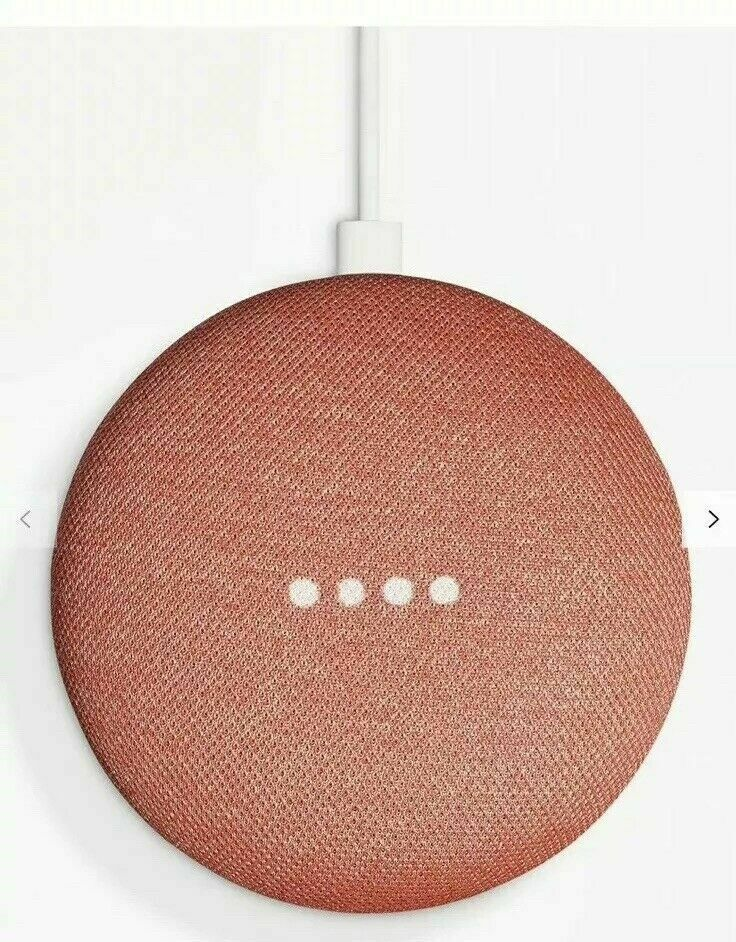 Google Home Mini Wireless Bluetooth Speaker Google Assistant -  CORAL