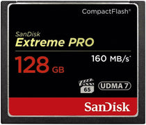 Sandisk Extreme PRO 128gb Compact Flash Memory Card