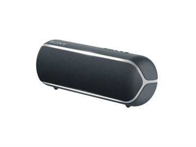 Sony SRS-XB22 Portable Waterproof Wireless Bluetooth Speaker with EXTRA BASS and Lighting - Black