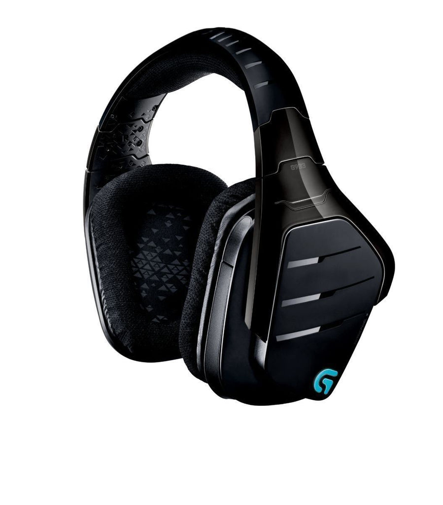 Logitech Artemis Spectrum G933 Wireless 7.1 Surround Gaming Headphones 2.4 GHz Black