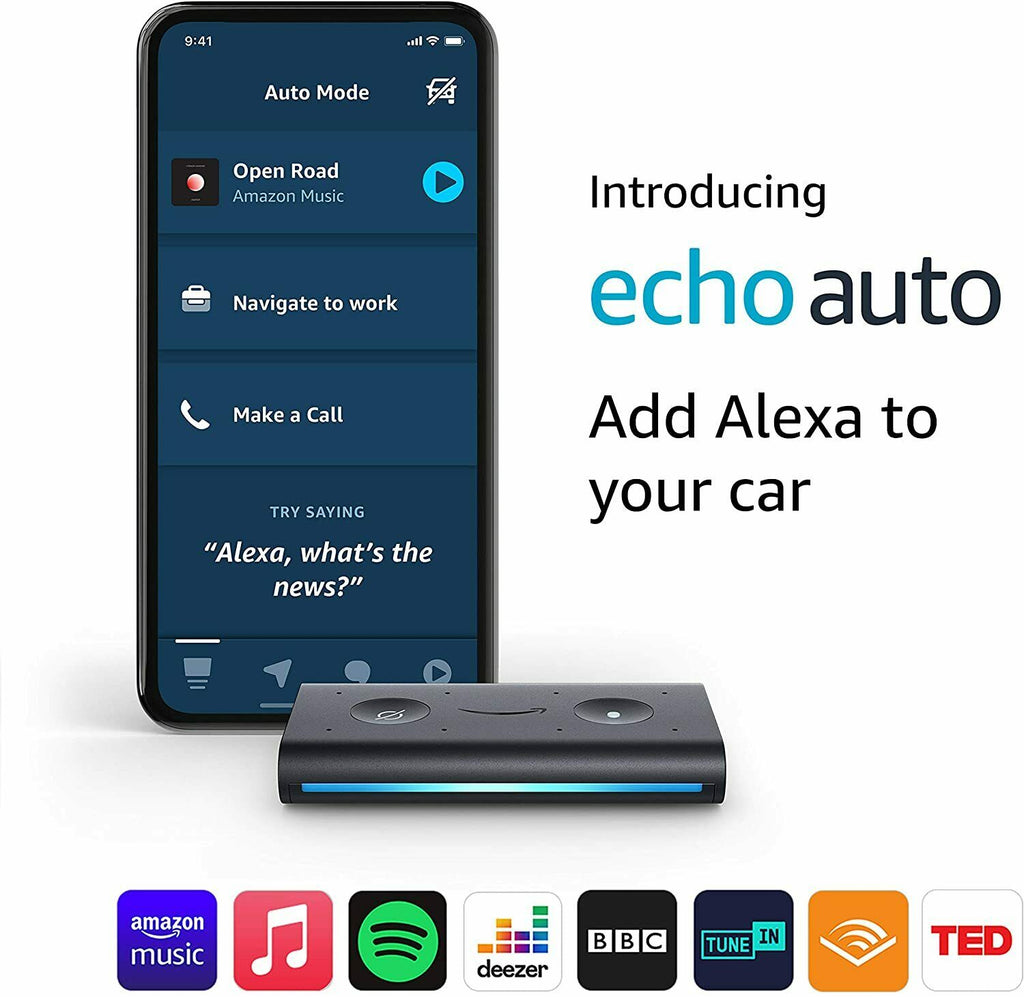 Amazon Echo AUTO Alexa Voice control system