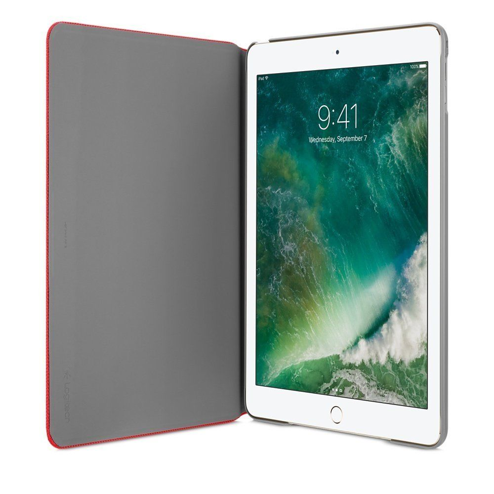 Logitech Hinge CASE Folio anyangle for iPad Air 2 Red