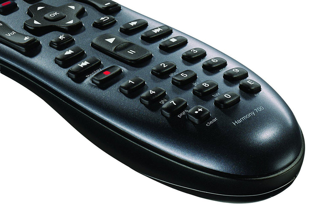 Logitech Harmony 700 Rechargeable Remote with Color Screen