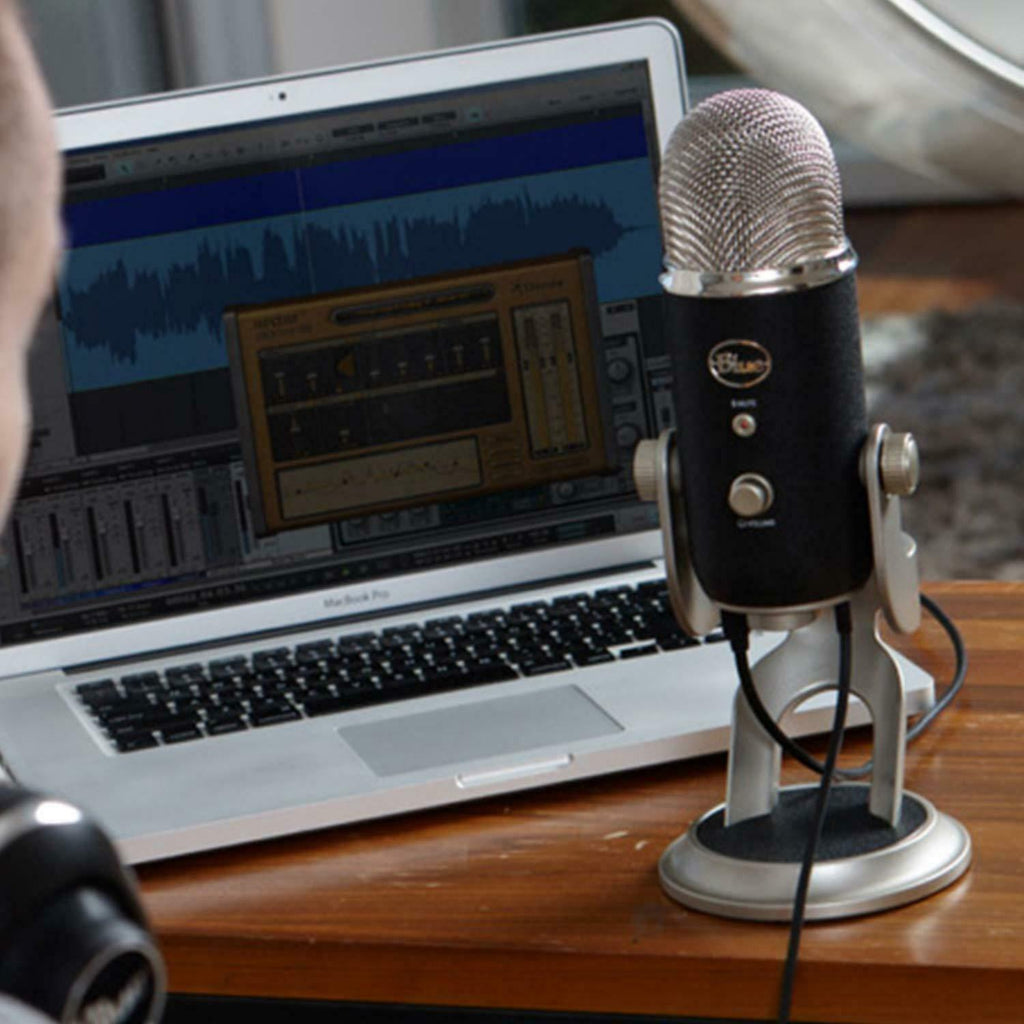 Blue Yeti PRO USB Mic for Recording and Streaming PC Mac