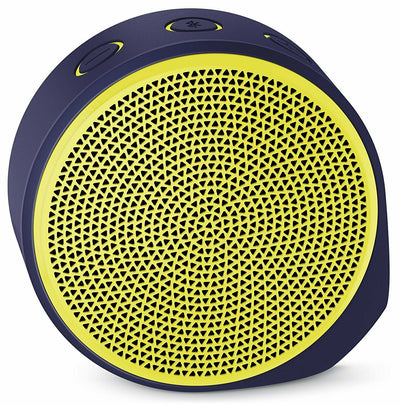 Logitech X100 Mobile Speaker - Yellow