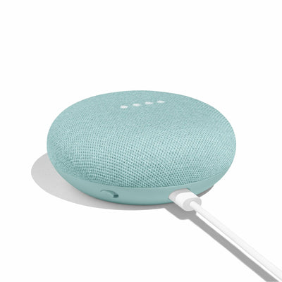 Google Home Mini Wireless Bluetooth Speaker Google Assistant - AQUA