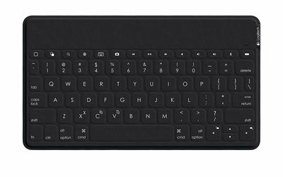 Logitech Keys To Go UK QWERTY Bluetooth Keyboard BLACK for IPAD iPhone AppleTV
