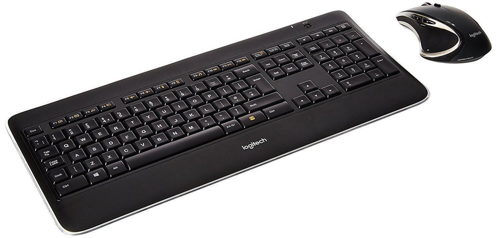 Logitech MX800 Wireless Performance and Mouse Combo Illuminated Keyboard UK QWERTY LAYOUT