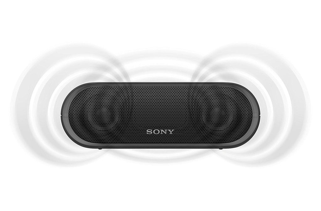 Sony SRS-XB20 Portable Wireless Speaker with Extra Bass and Lighting Black !B - Fatbat UK