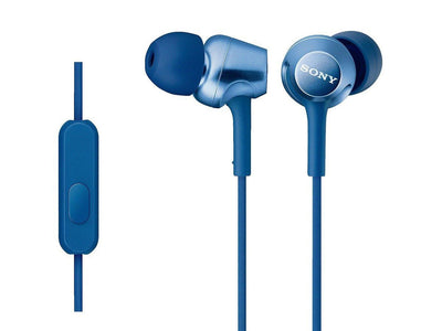 Sony MDR-EX250AP BLUE Blister Wired In-Ear Headphones