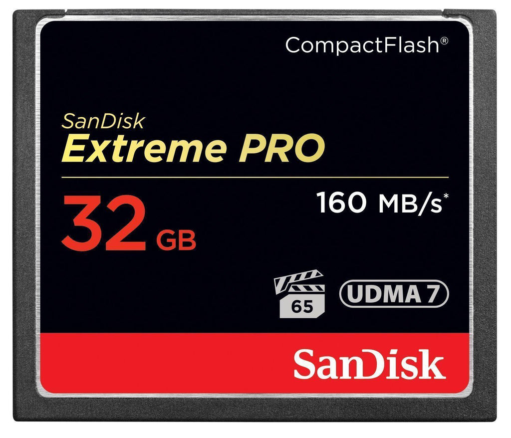 Sandisk Extreme PRO 32gb Compact Flash Memory Card