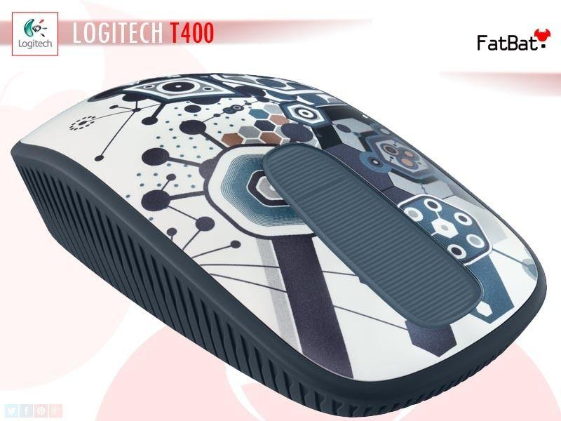 Logitech T400 Fusion Zone Touch Mouse Computer Laptop Win 10 / 8