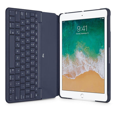Logitech SLIM FOLIO Keyboard case for iPAD 5th GEN UK LAYOUT BLUE