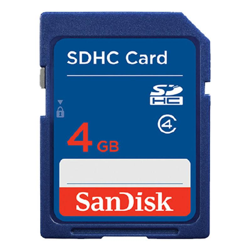 SanDisk SD SDHC 4 GB Secure Digital Memory Card