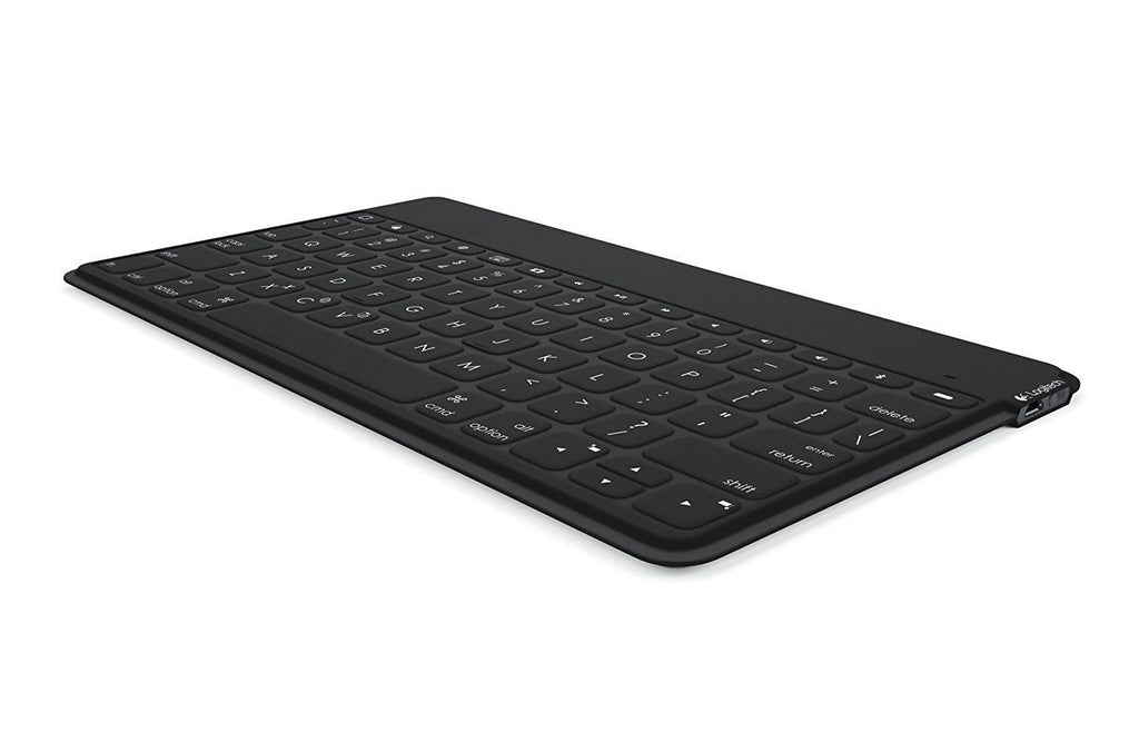 Logitech Keys To Go QWERTY Bluetooth Keyboard BLACK for IPAD Svenska Dansk Norsk