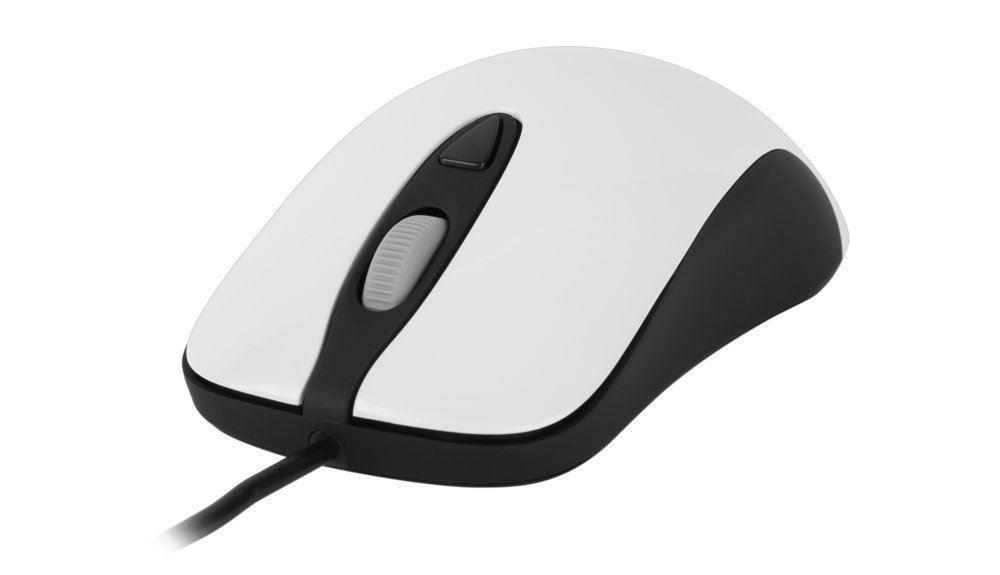 SteelSeries Kinzu v3 Optical Gaming Mouse Mice Pro Gamer White