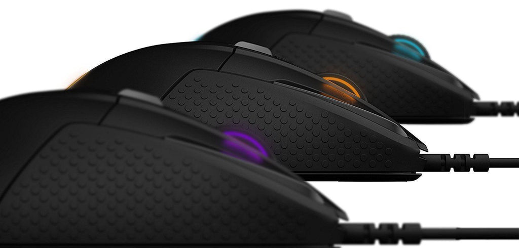 SteelSeries Rival 500 16000DPI MOBA RGB Wired USB Optical Gaming Mouse PC Mac !N - Fatbat UK