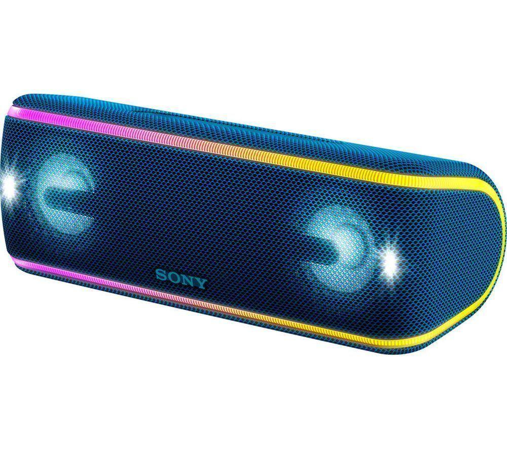 Sony SRS-XB41 Wireless Bluetooth BLUE Waterproof Speaker EXTRA BASS