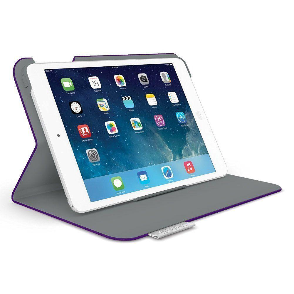 Logitech Folio Protective Case For Ipad Mini - Matte Purple  !N - Fatbat UK