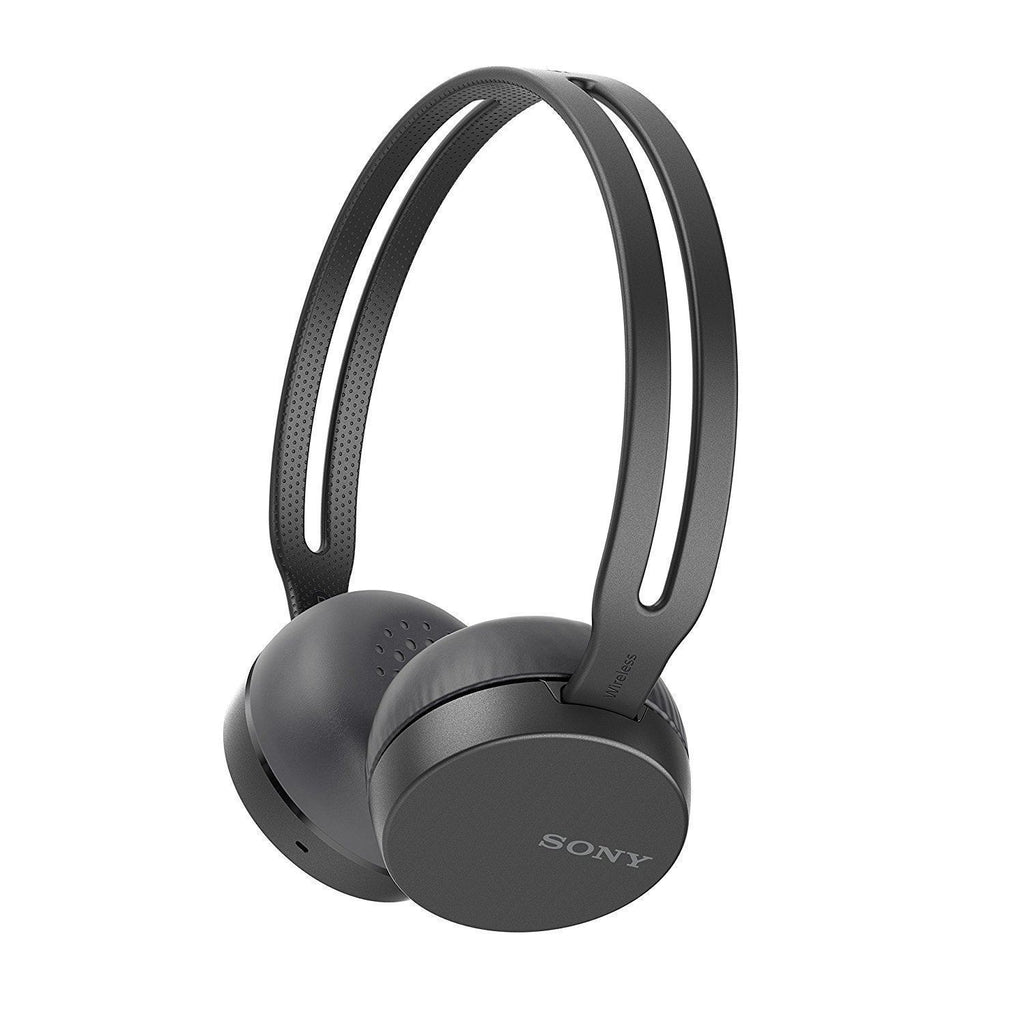 Sony WH-CH400 Wireless Headphones Bluetooth NFC light Black Headset MIC