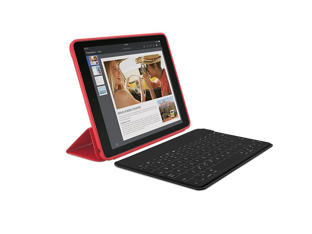 Logitech Keys To Go QWERTY Bluetooth Keyboard BLACK for IPAD FRENCH LAYOUT