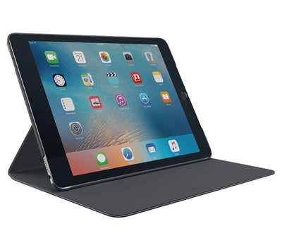 Logitech Hinge Slim case cover with Anyangle stand for iPad Pro 9.7 BLACK