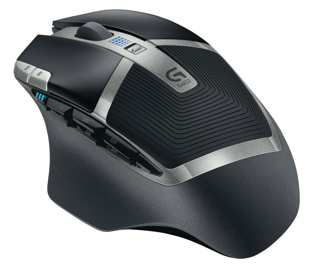 Logitech G602 Wireless Gaming Mouse - Black