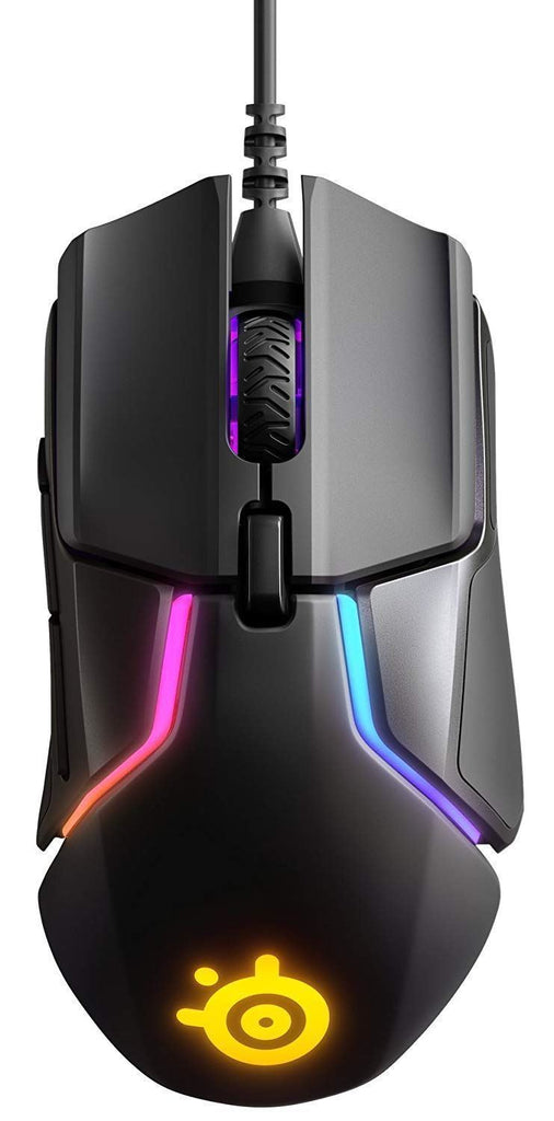 SteelSeries Rival 600 Gaming mouse Dual Optical Sensor RGB Lighting