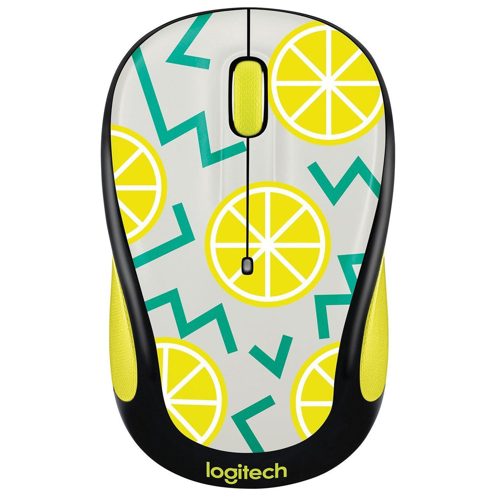 Logitech M325c Wireless Optical Mouse - Lemon !A - Fatbat UK