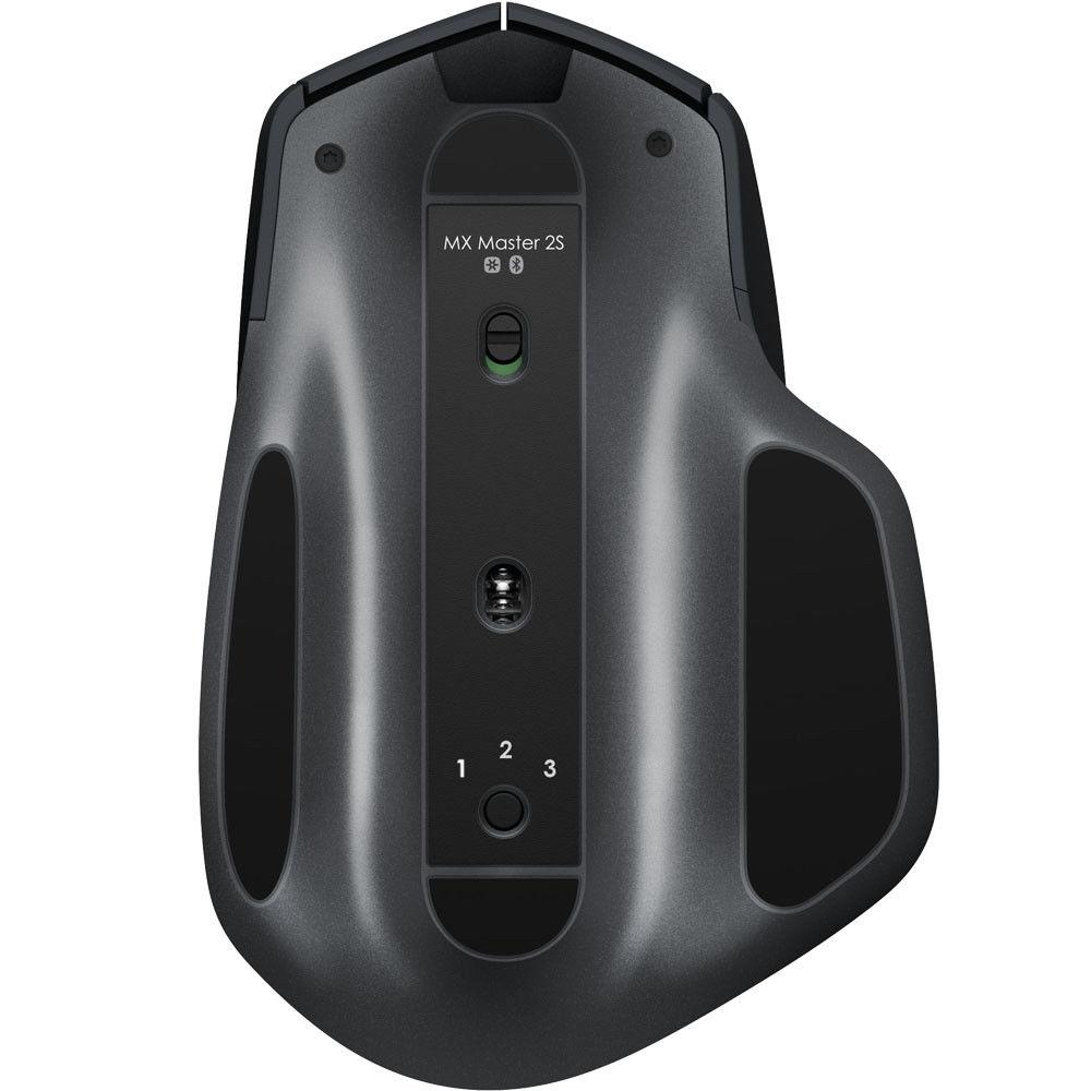 LOGITECH MX Master 2S Wireless Bluetooth Unifying Mouse - Graphite
