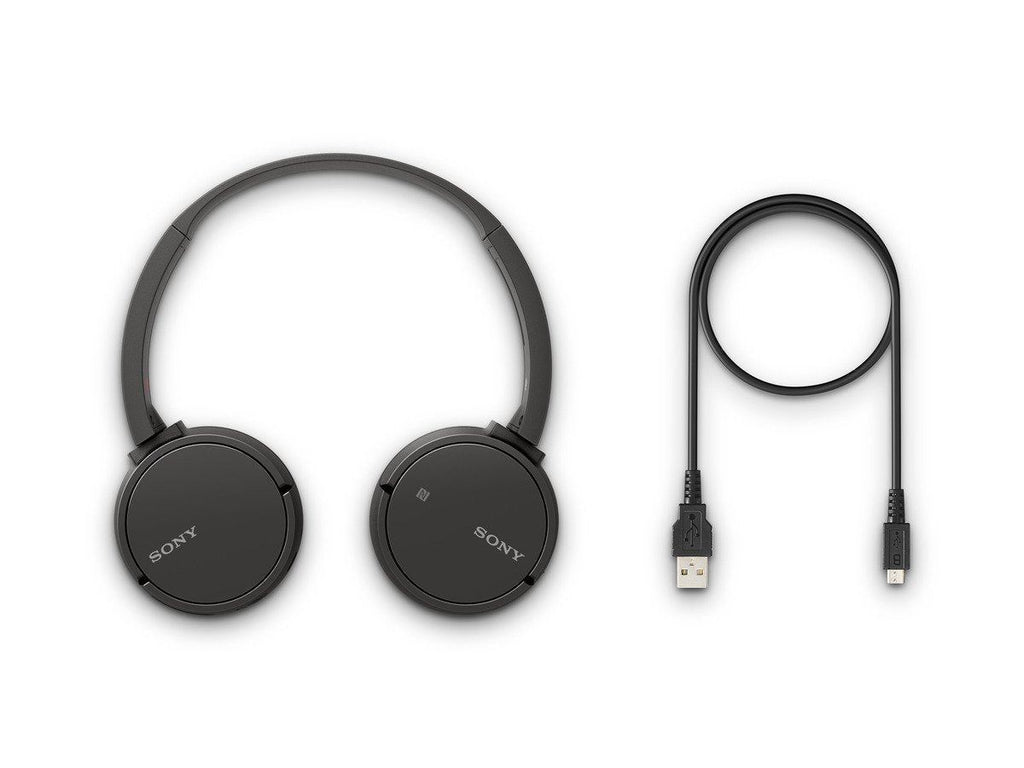 Sony WH-CH500 Wireless Headphones - BLACK