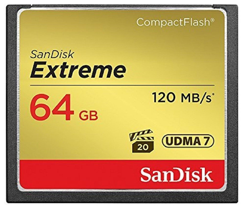 Sandisk Extreme 64gb Compact Flash Memory Card CF