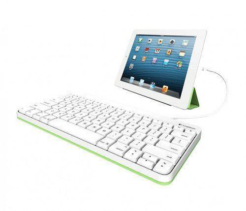 Logitech Wired Keyboard for Ipad / Iphone Layout Svenska Dansk Norsk Suomi