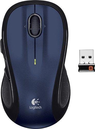Logitech M510 Laser Mouse DARK BLUE !A - Fatbat UK