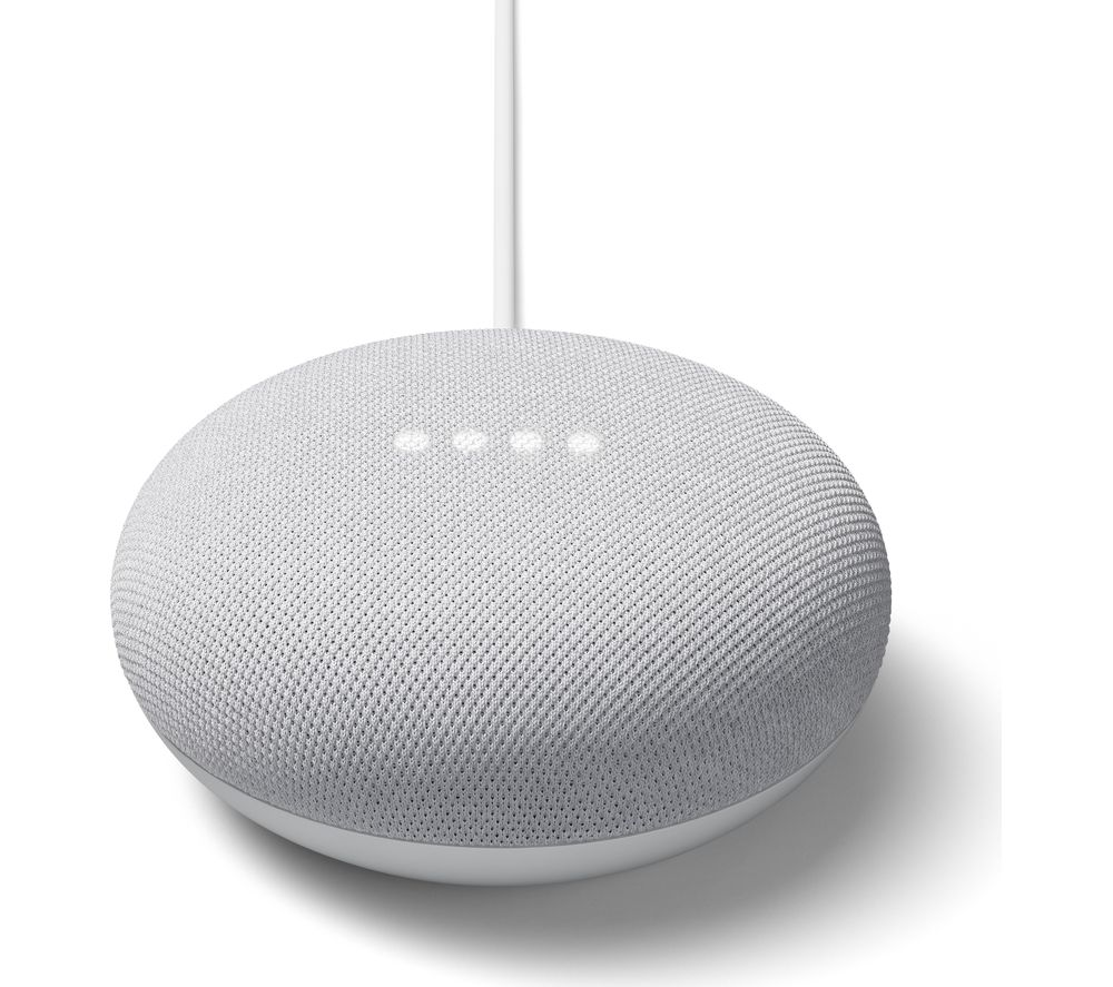 Google Nest Mini Wireless Bluetooth Speaker Google Assistant - Chalk