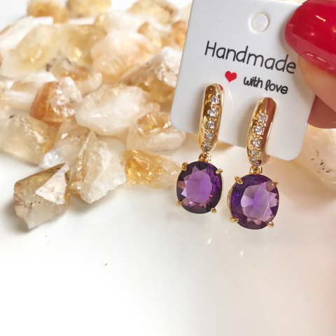 Shine Bright Earrings - Gemstones&Co